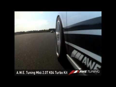 AWE Tuning Mk6 2.0T K04 Kit Hits the Track