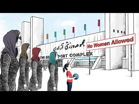 HRW denunció a Irán por prohibir que las mujeres vean vóleibol