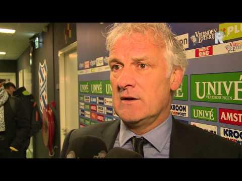 Fred Rutten na afloop van sc Heerenveen - Feyenoord