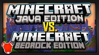 WHICH IS BETTER? - Minecraft JAVA or BEDROCK?!