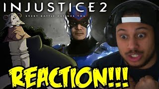 URSUS SHOCK! Injustice 2 - Introducing Atom! Gameplay Trailer REACTION!!!