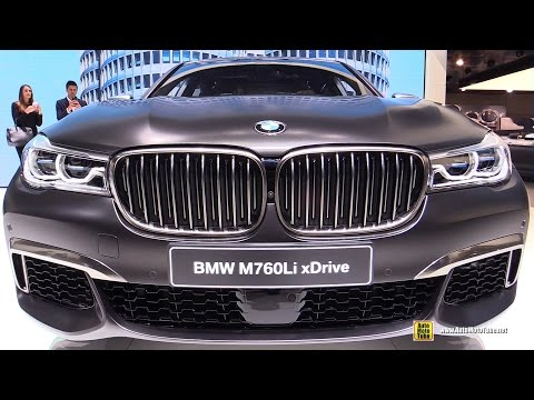 2017 BMW M760Li xDrive V12 600hp - Exterior and Interior Walkaround - Debut 2016 Geneva Motor Show