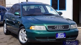1998 Audi A4 2 8 Quattro 5 Speed B&P Auto Sales NJ
