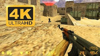 Counter Strike 1.6 ( 2000 ) : Old Games in 4K 2018