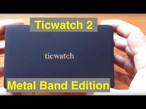 Ticwatch 2 NEW Version: Unboxing for Watch Face Design Workshop