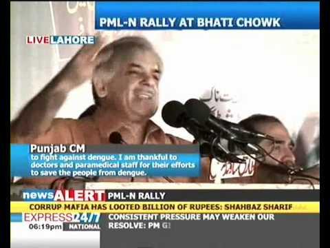 We'll hang Zardari and his cronies upside down: Shahbaz Sharif
