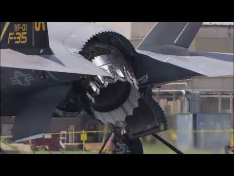 F-35 Lightning II, F135 Engine - Overview Video