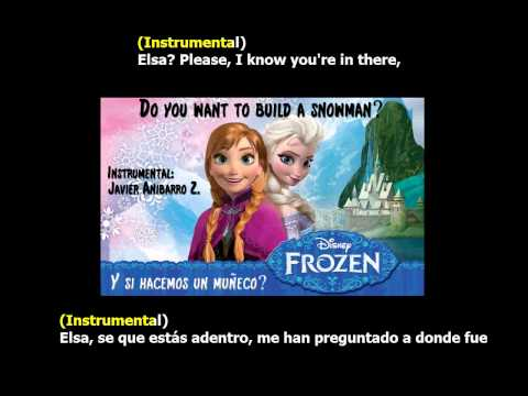 Frozen - Do You Want to Build a Snowman? (Karaoke) (Instrumental: Javier Anibarro Z.)