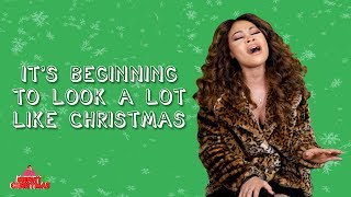 """Evvie McKinney sings """"It's Beginning To Look A Lot Like Christmas"""" 