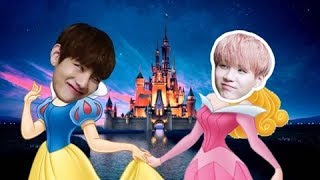 BTS As Disney Characters #2