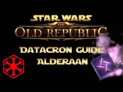 SWTOR - Datacron Guide - Alderaan (Empire)