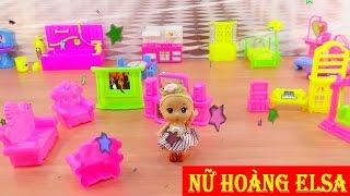 Đồ chơi trẻ em - Búp bê baby doll - Nữ hoàng dọn nhà cho Búp bê Chibi