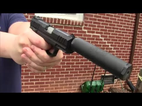 Ruger SR22 Shooting and Review