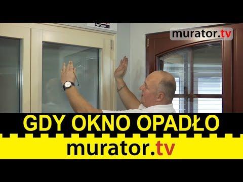 Regulacja Okien. Co Zrobić, Gdy Skrzydło Okna Opadło?