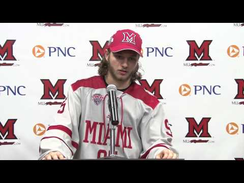 Miami RedHawks Hockey Post Game Press Conference - 2/21/2015