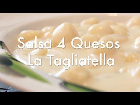 Salsa Cuatro Quesos Para Pasta Estilo La Tagliatella - Recetas de Cocina