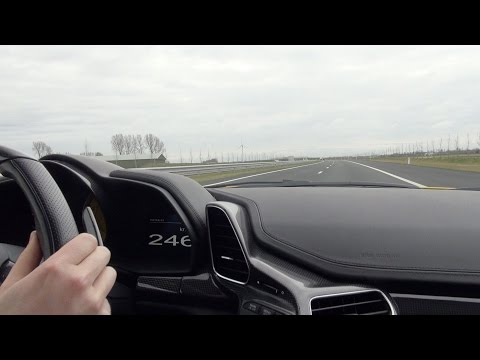 Ferrari 458 Spider - Onboard Ride, Tunnel, Accelerations! video