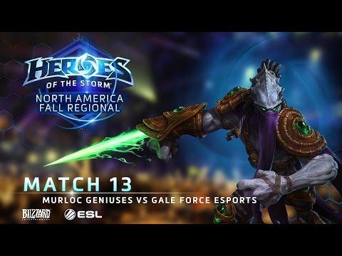 Murloc Geniuses Vs Gale Force ESports - NA Fall Regional #1 - Match 13 | Grand Finals
