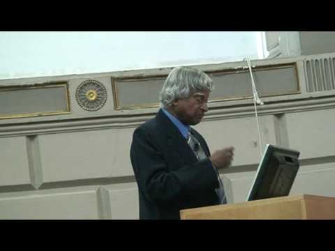 Dr Apj Abdul Kalam Speech At Trintiy College Dublin, Ireland. Part 3 7 video