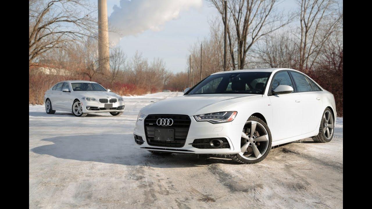 2014 Audi A6 Tdi Vs 2014 Bmw 535d Xdrive Youtube