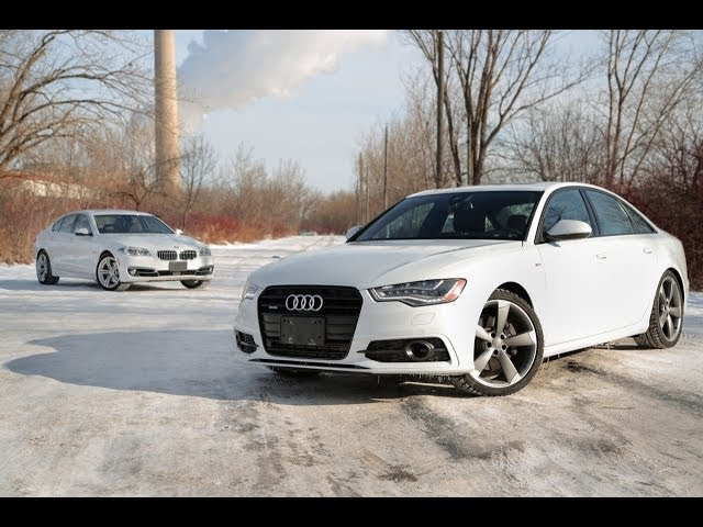 2014 Audi A6 TDI vs. 2014 BMW 535d xDrive - YouTube