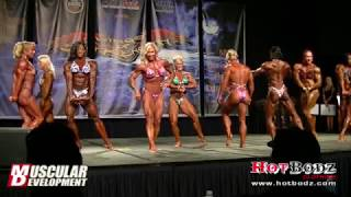 2013 Women's Bodybuilding Finals at IFBB Chicago Pro