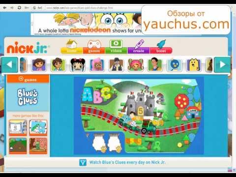 Развивающие игры для детей, #2  Дора, Диего, Никелодеон