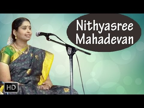 Carnatic Vocal - Annamacharya Krithis - Parama Purusa Nirupamana - Nithyasree Mahadevan