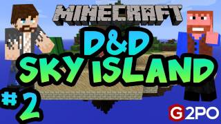 Dumb and Dumber on Minecraft - House Guests: Part 2, Sky Island