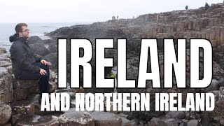 Visit Ireland/Northern Ireland tourism/tour guide video (HD) | Travel Vlog