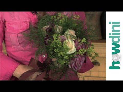 How to make a bouquet - Hogyan készítsünk egy csokor virágot
