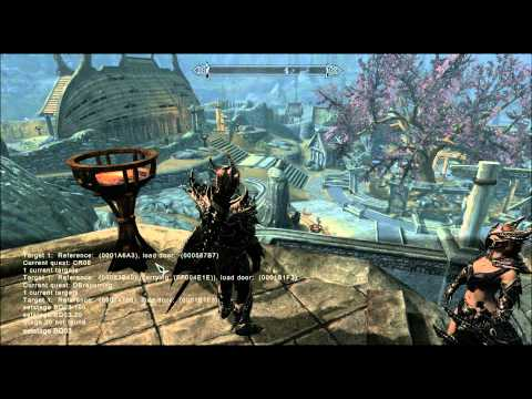 how to start quests in skyrim console