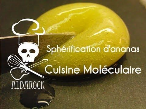 Diese erstaunliche entdeckung for Spherification cuisine moleculaire