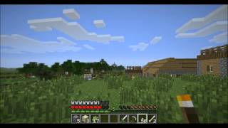 Minecraft Tornado Mod Survival Part 25: Finally Building My House