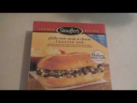 Stouffer's Philly-Style Steak & Cheese Toasted Sub Review