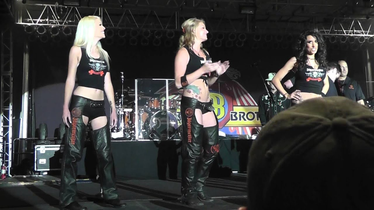 Jagermeister Girls Arizona Bike Week 2013 YouTube