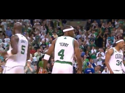 Jason Terry 18 points (9 in overtime) vs New York Knicks - Game 4 Highlights - 2013 Playoffs