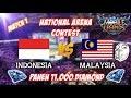 Malaysia TERCYDUK Sama Indonesia Saat National Arena Contest - Mobile Legends 31 08 2017