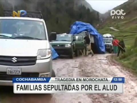 Tragedia en Morochata Cochabamba, familias sepultadas por el alud @ RED PAT BOLIVIA