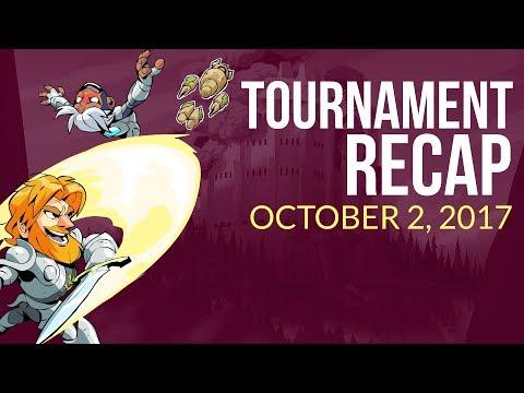 Brawlhalla Tournament Recap Weekly - October 2nd 2017