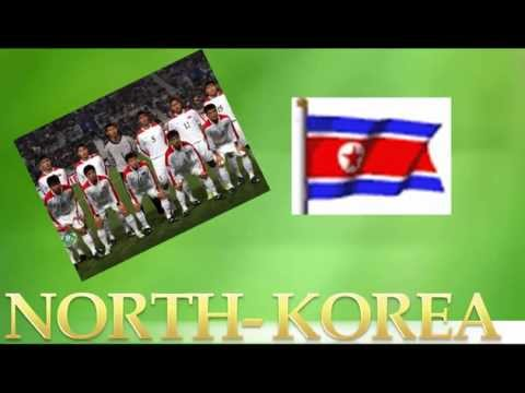 2010 FIFA WORLD CUP Team Pictures and Theme Song Video