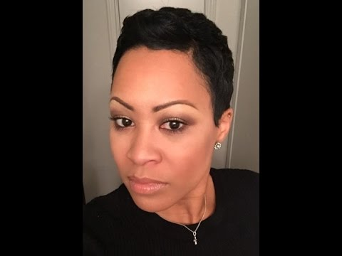 How to: Style My Pixie Haircut QUICKLY! - MsAllmadeup 2015