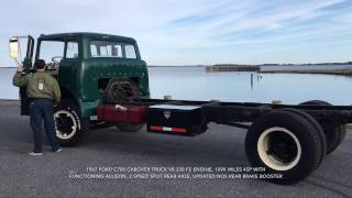 1967 Ford C700 cabover truck