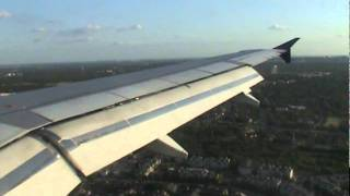 Delta Airlines A319 Landing at San Antonio International Airport