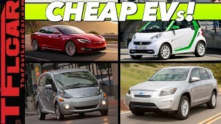 These Are The Top 10 BEST Used Electric Car Bargains - So Cheap You Might Go EV!