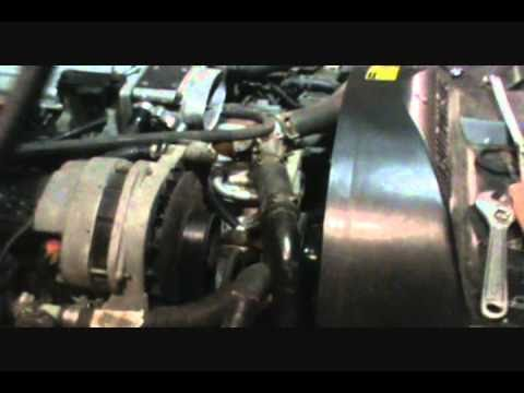 completely drain gm lt engine coolant youtube