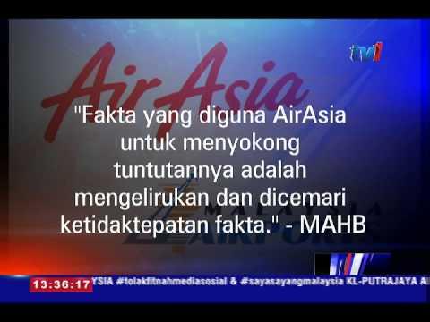 MAHB NAFI BERHUTANG DENGAN AIR ASIA [15 OGOS 2015]