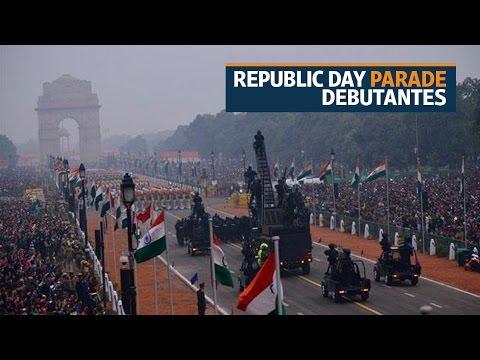 2017 Republic Day Parade debutantes
