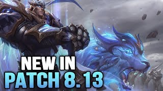 New in Patch 8.13 - ADC BUFFS!! (League of Legends)