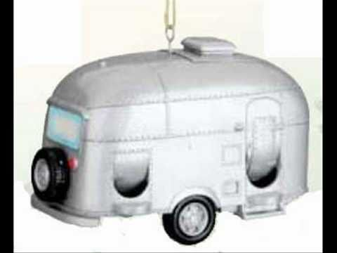 Airstream Travel Trailer Birdhouse